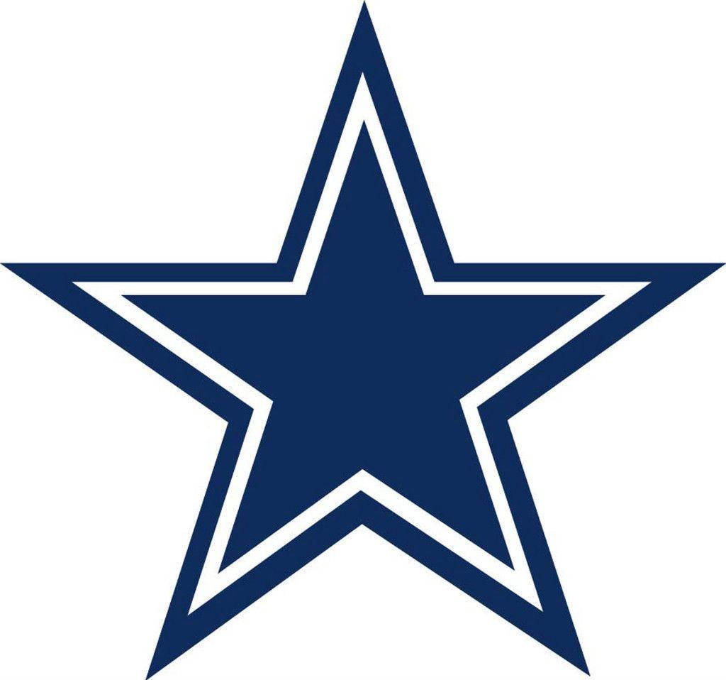 Dallas Cowboys Star Logo Window Wall Sticker Vinyl Car Decal Any Color