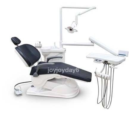 Computer Controlled Dental Unit Chair FDA CE Approved A1 Soft Leather