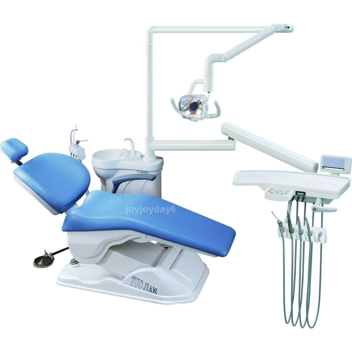 Computer Controlled Dental Unit Chair FDA CE Approved A1 Hard Leather