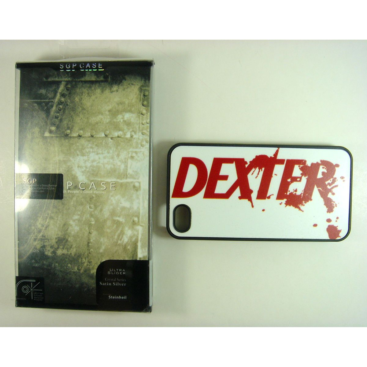 Dexter Logo Hard Cover Case For Mobile Phone iPhone 4 4G 4S In Box
