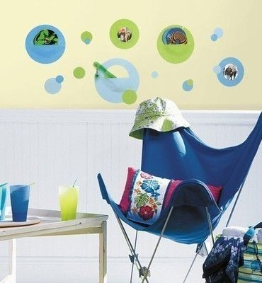 Polka Dots Wall Pockets Decals 35 Removable Stickers Room Decor