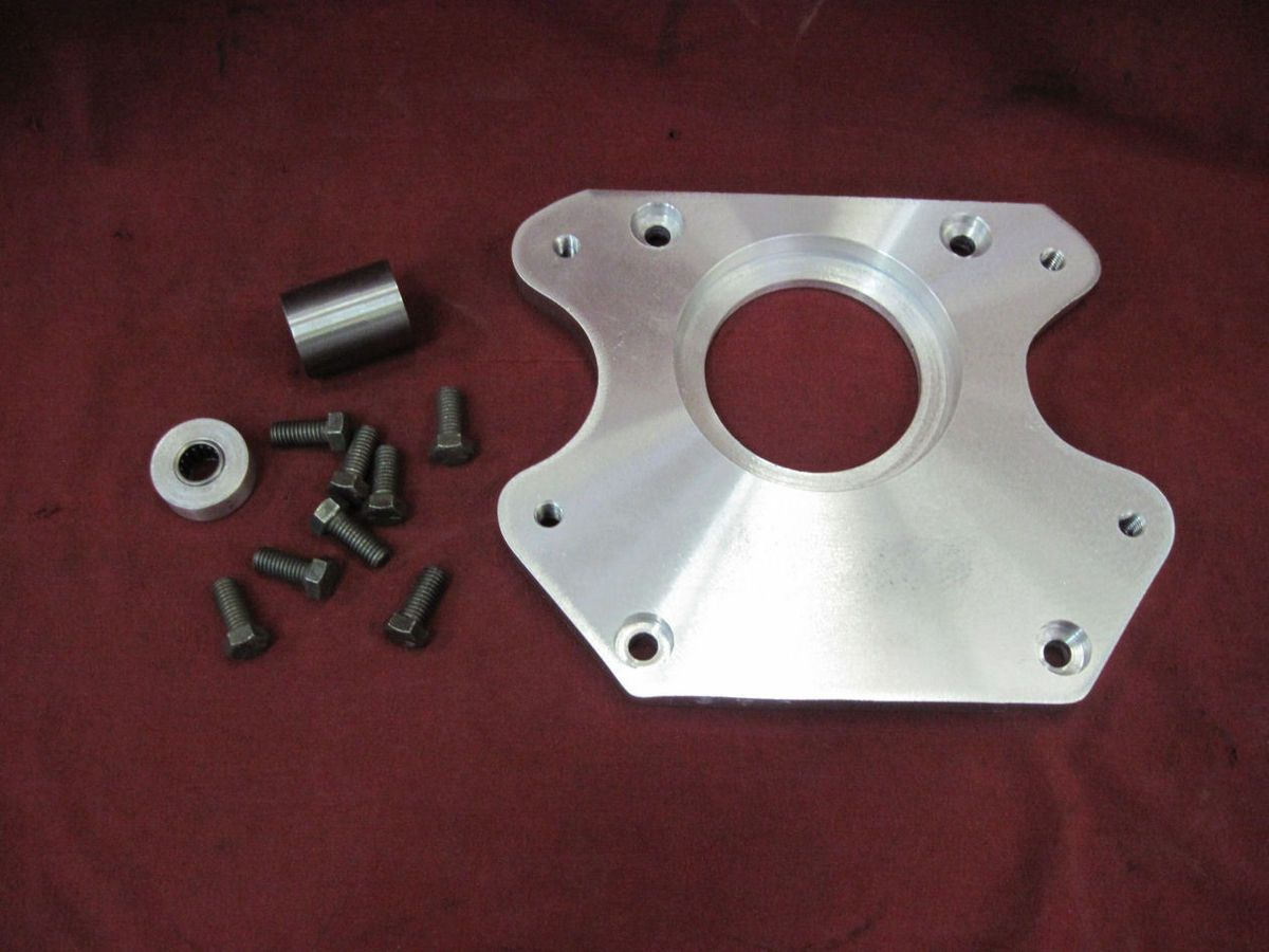 Ford Flathead to S 10 T5 transmission adapter plate kit hot rat rod