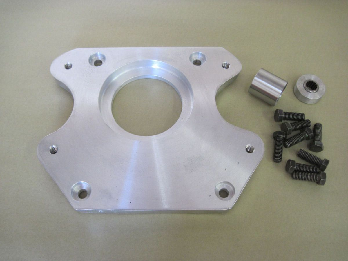 1949 53 Ford Flathead to T5 trans adapter plate kit hot rat rod S10