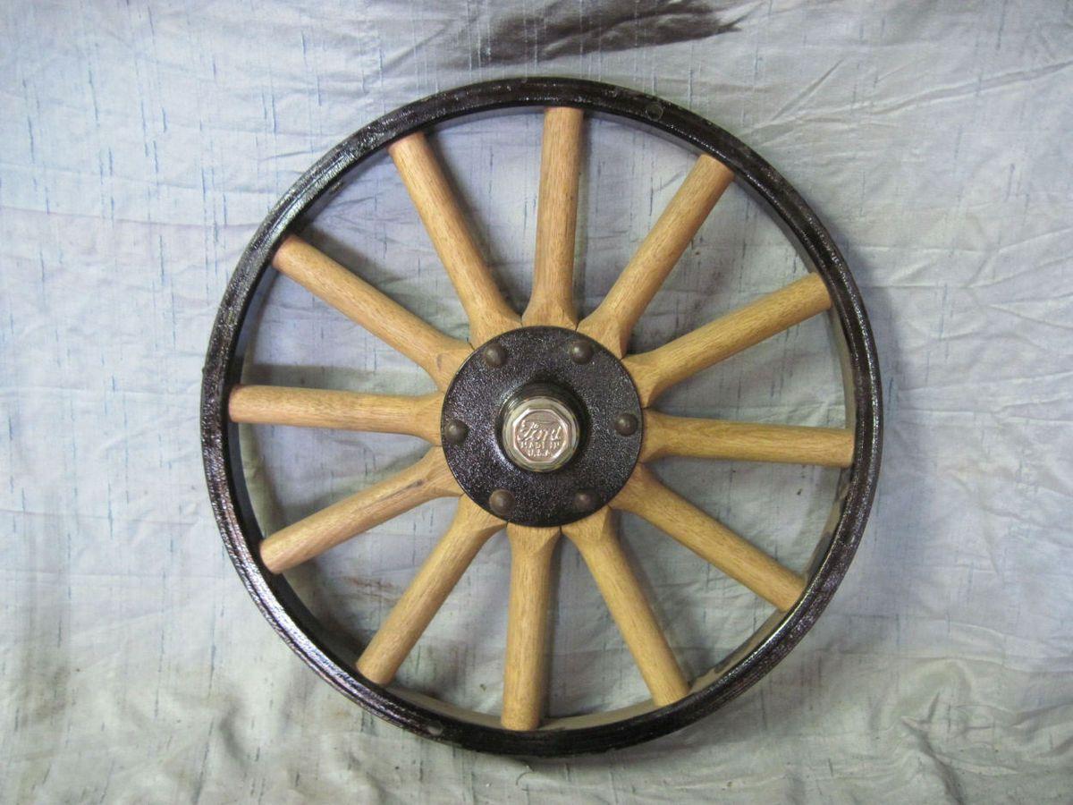 Model T Ford Wood Spoke Wheel Demountable 21 Hot Rat Rod