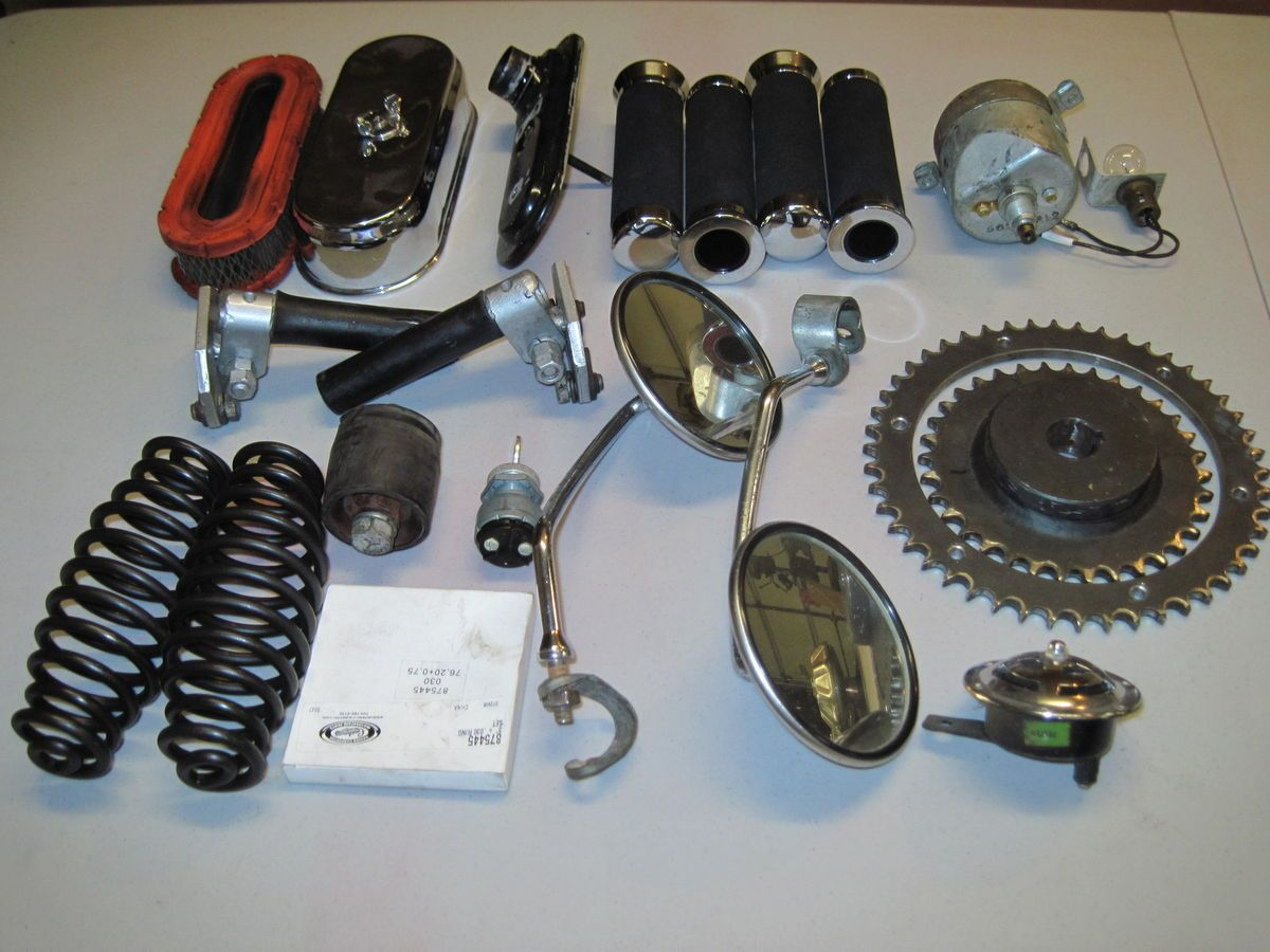 Cushman Eagle Parts Assortment Wiring Diagram For A Scooter