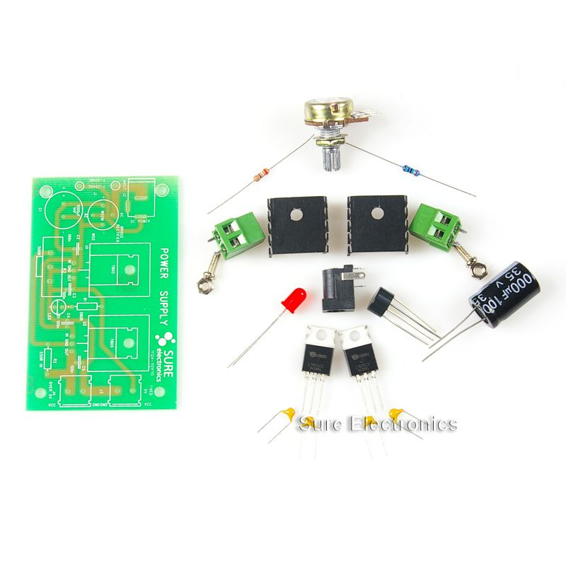 New 5V 16V Linear DC Power Supply Components DIY Kits