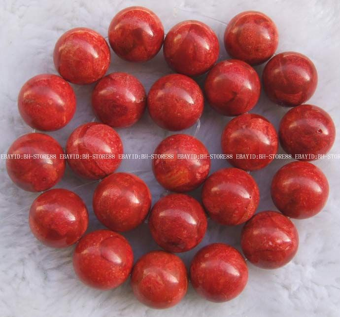 beautiful high quality beads dyed color material colore complex coral