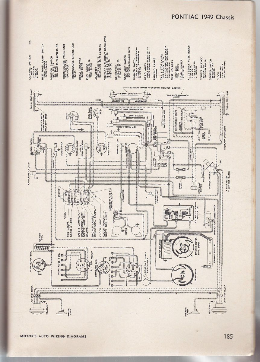 1950 buick wiring diagram  1950  free engine image for