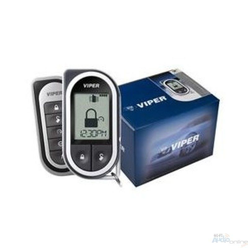 Keyless Entry Remote Start System Viper 5501 1 Mile of Range LCD 2 Way