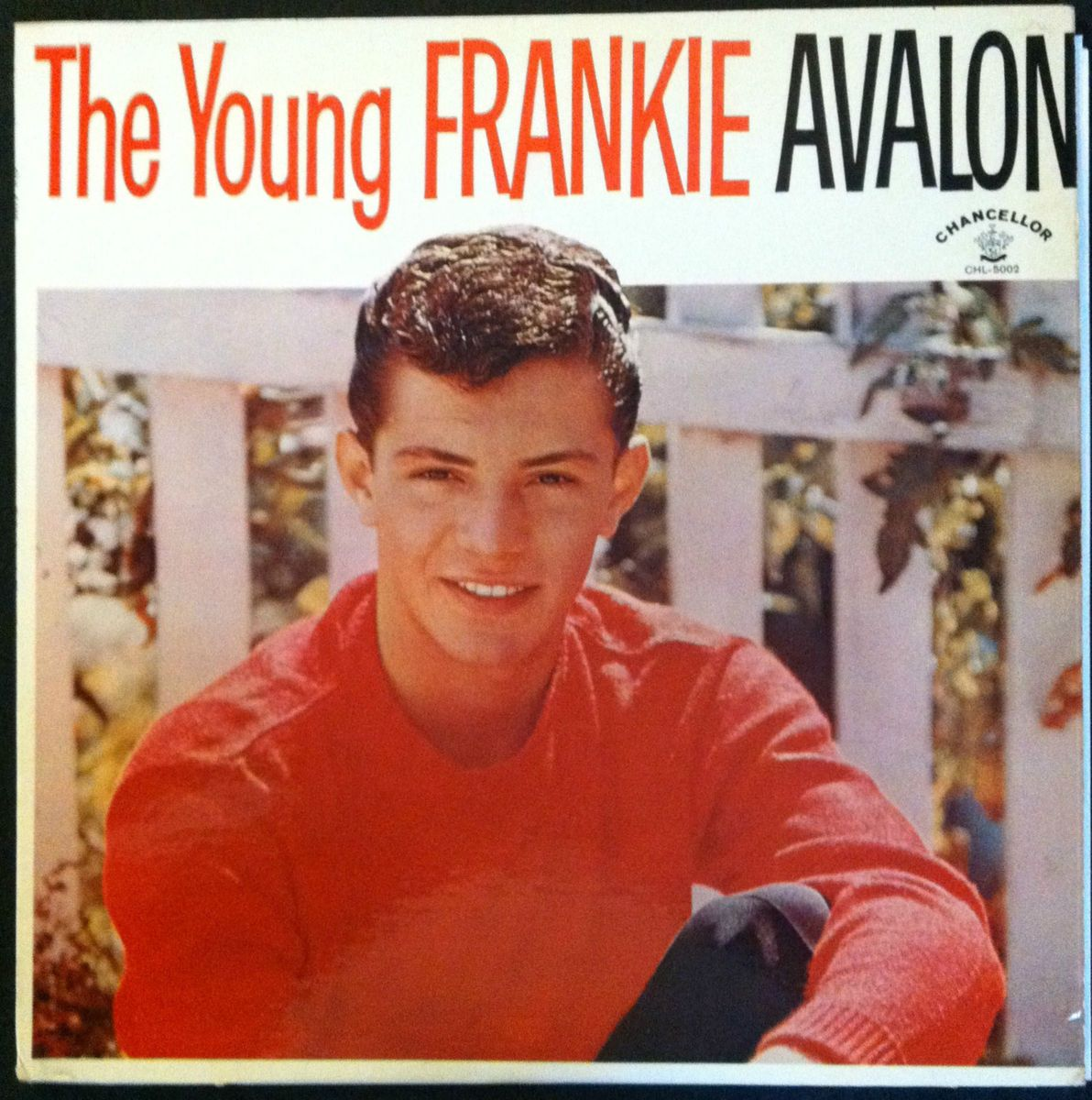 Frankie Avalon The Young Frankie Avalon Chancellor 1959 CHL 5002 VG
