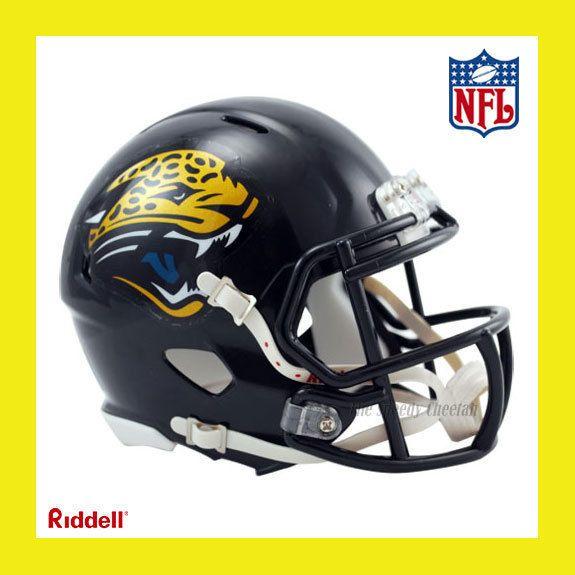 Jaguars Official NFL Mini Speed Football Helmet by Riddell