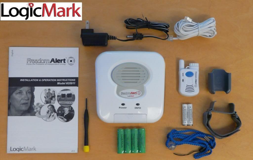 Freedom Alert Emergency Alerting Device 2 w Model 35911