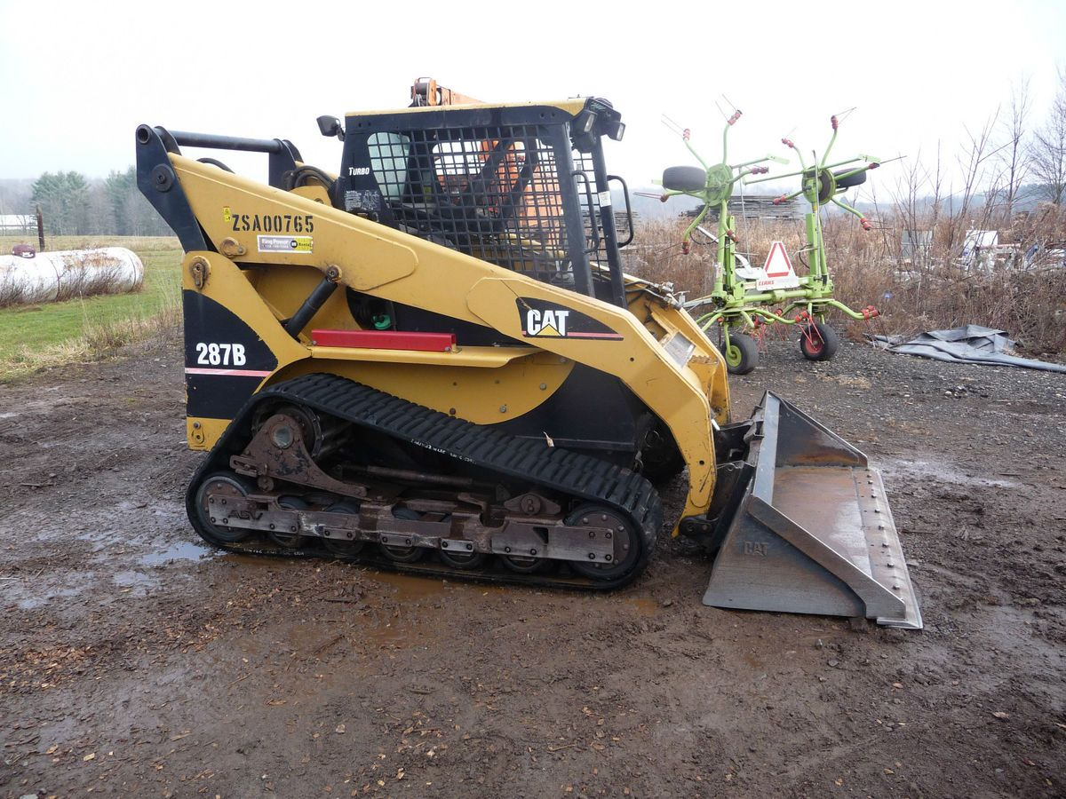 Caterpillar 287B Skid Steer Track Loader