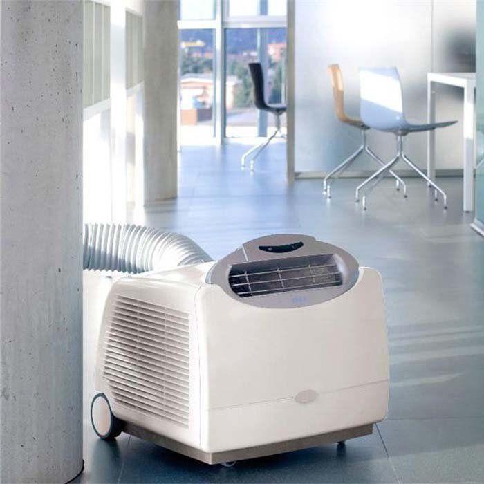 SNO ECO FRIENDLY 13000 BTU Portable Air Conditioner Frost White