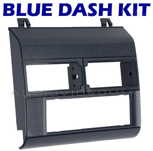 GM GMC Chevy Truck Pickup 1988 1994 Blue Radio Dash Kit