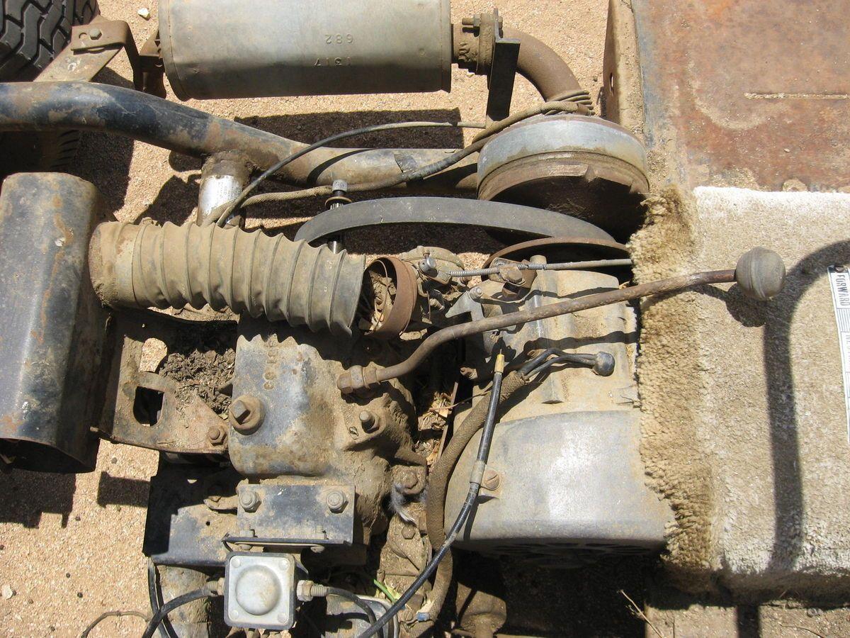 1965 Harley Davidson Golf Cart Engine