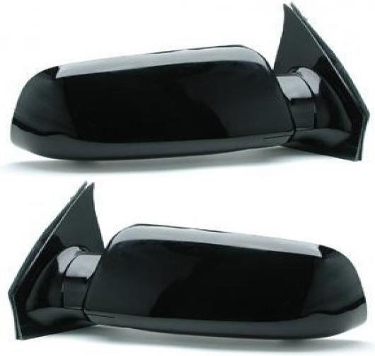 Set of 2 Mirror New Primered Chevy Manual Chevrolet Astro GMC Safari