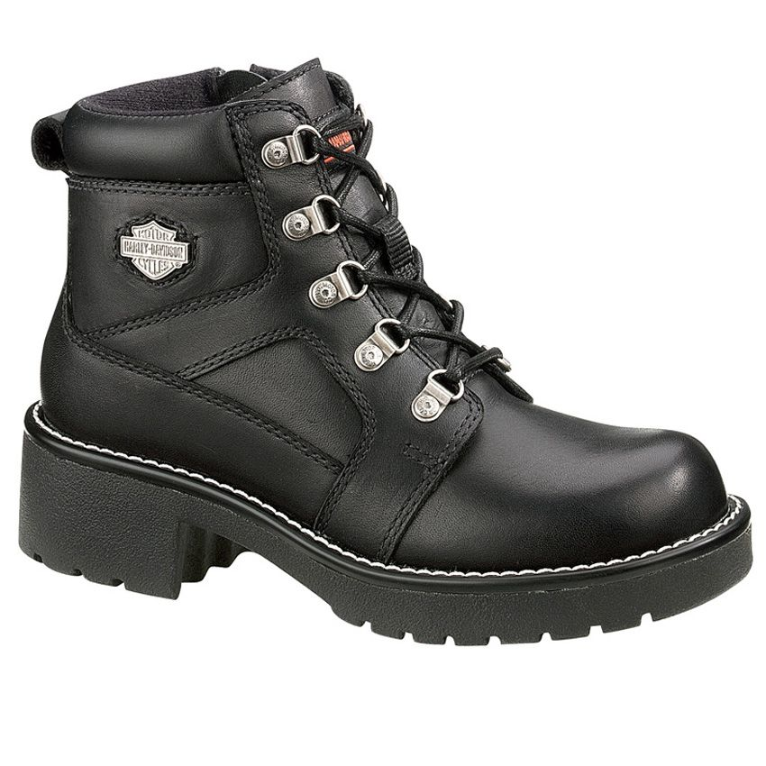 Brand New Harley Davidson Womens Express Lane Boot Size 9 5 in Black