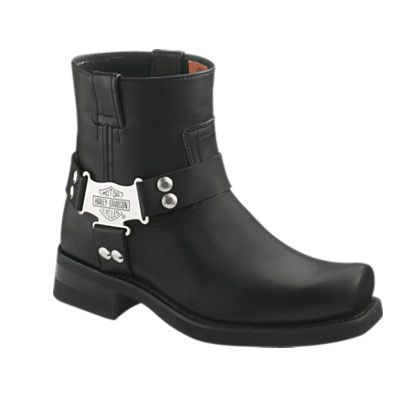 Mens Harley Davidson Iriquios Short Harness Pull on Boot New in Box