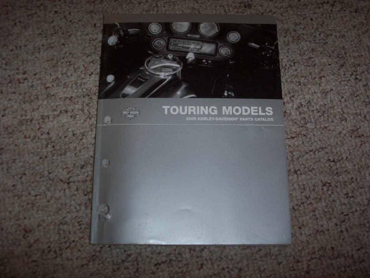 2005 Harley Davidson Touring Parts Catalog Manual Book