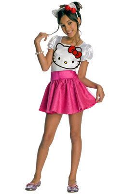 Hello Kitty Tutu Dress Child Costume Size Medium