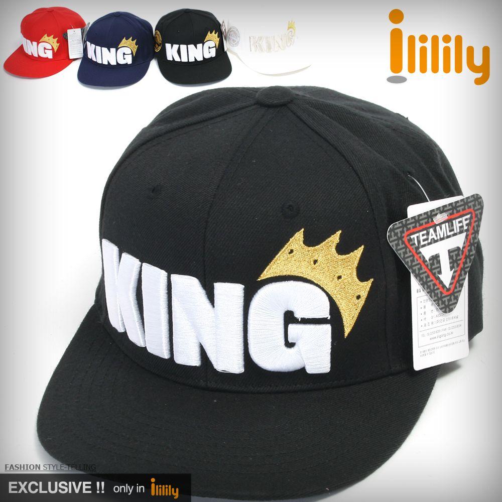 Ililily Brand New Mens Hip Hop Cap Hat Black Baseball Caps Unisex Flat