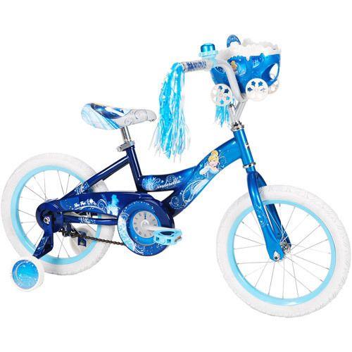 Huffy Disney Cinderella 16 Girls Bicycle Bike with Training Wheels