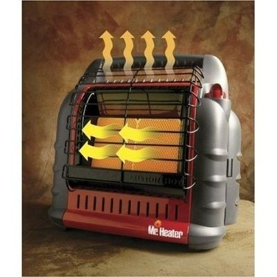 Mr Heater Big Buddy Indoor Safe Portable LP Gas Propane Heater 18 000