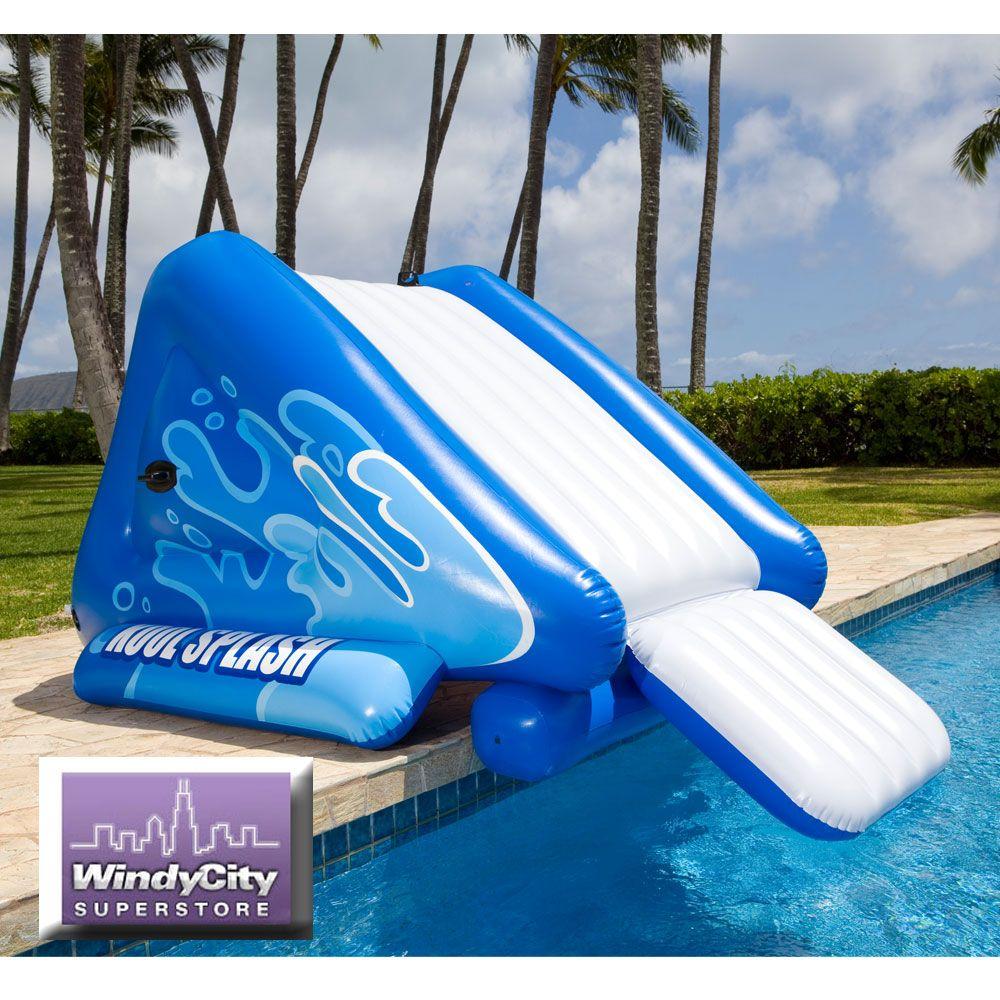 Intex Kool Splash Inflatable Swimming Pool Water Slide 58851ep Brand