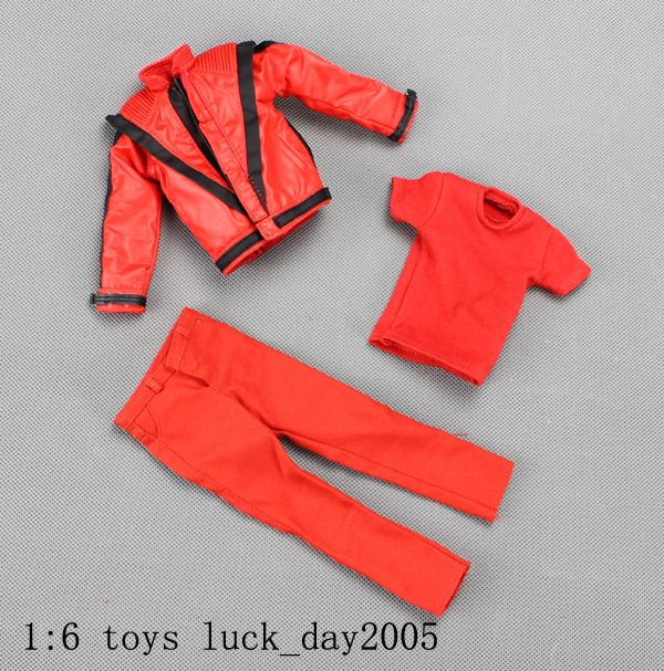 Hot Toys Michael Jackson Thriller Costume Jacket Pants T Shirt 1 6