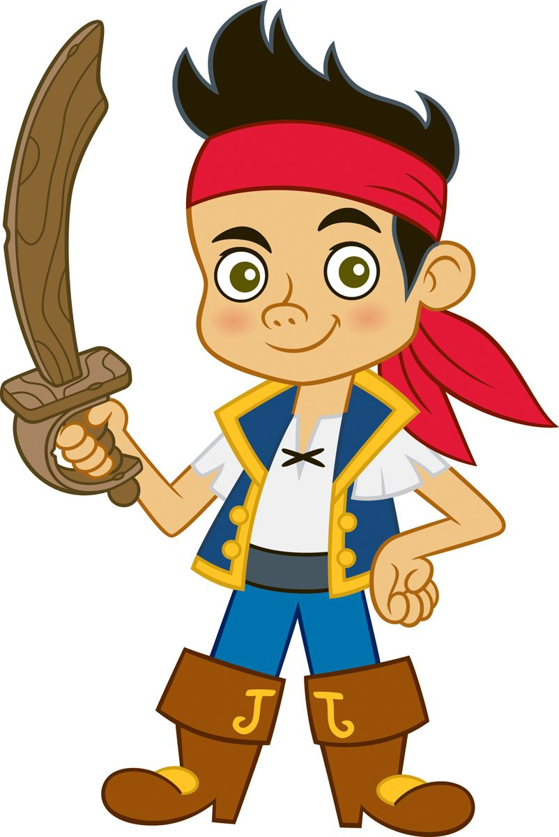 Jake & the Neverland Pirates Peel & Stick Giant Wall Decal RMK1793GM