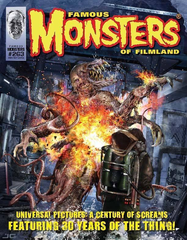 Monsters Of Filmland 263 The Thing John Carpenter James Whale Mezco