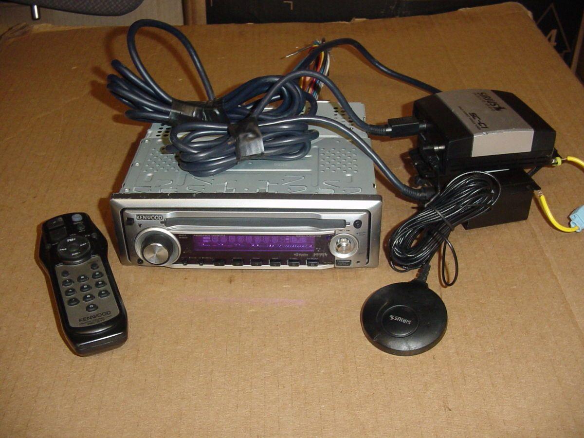 MP232 SIRIUS Satellite Radio Tuner Antenna KCA SR50 SC C1 Active Sub