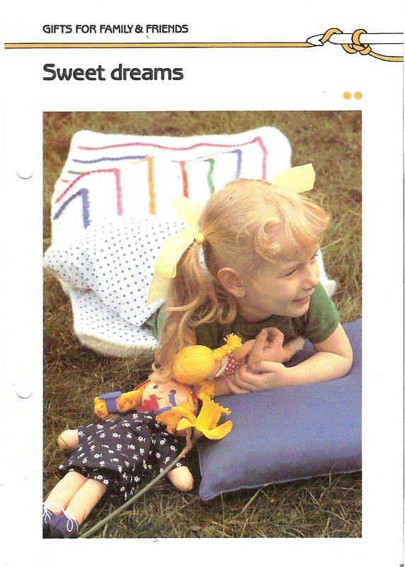 Crochet Pattern Kids Sweet Dreams Sleeping Bags