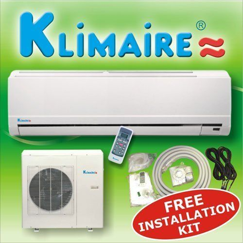 Ductless Mini Split Air Conditioner Klimaire With Toshiba Cool & Heat