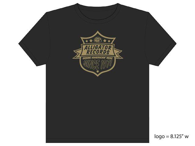 Alligator Records 40th Anniv T Shirt Koko Taylor BD Guy