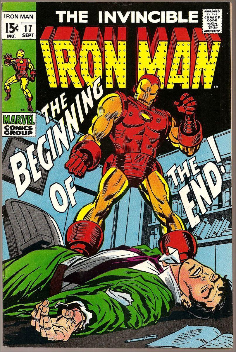 Iron Man No 17 Tony Stark Invincible Avengers Silver Age Marvel Comics