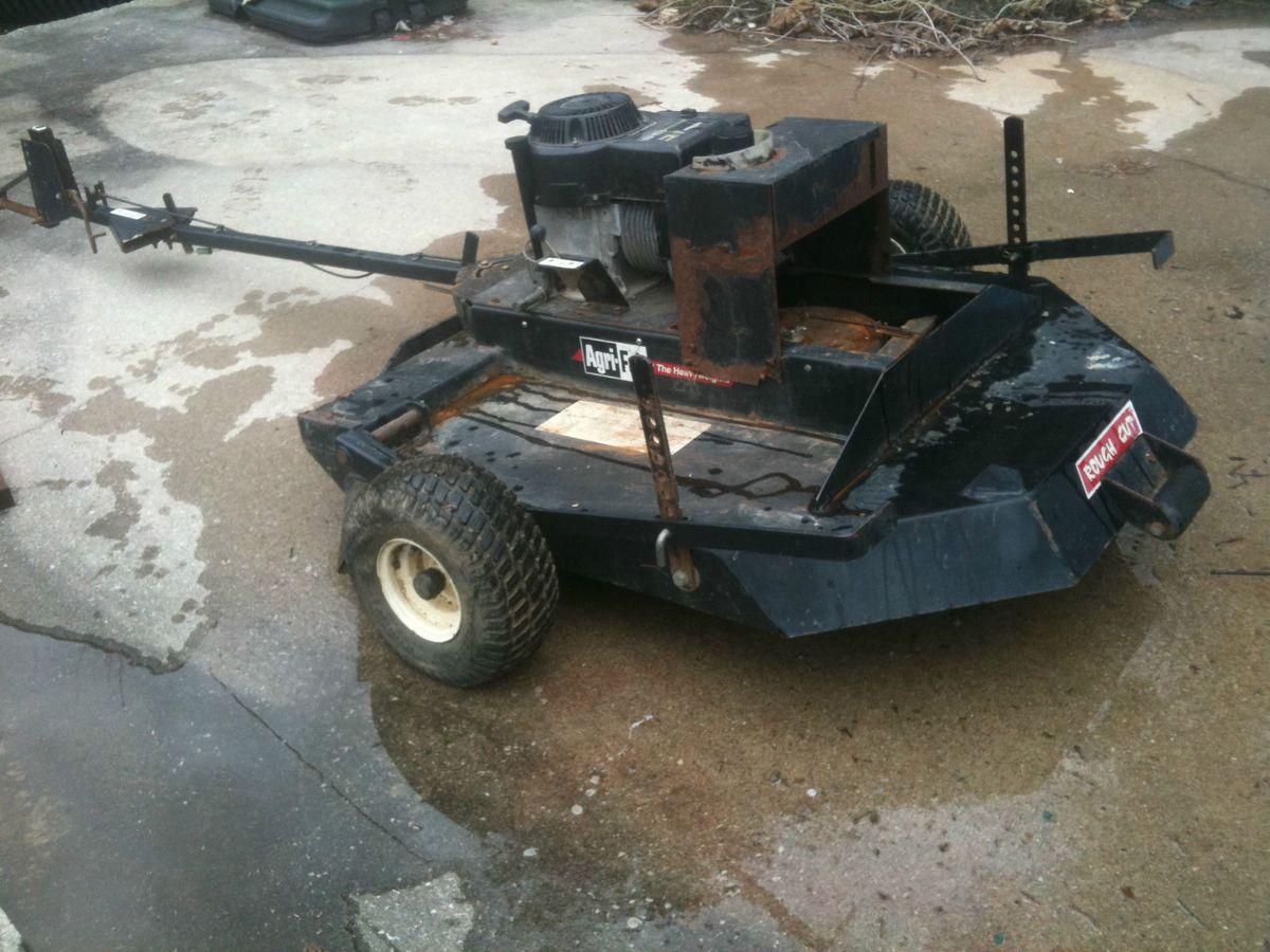 Bush Hog Pull Behind Tractor Four Wheeler Lawn Mower Trades Runs Great