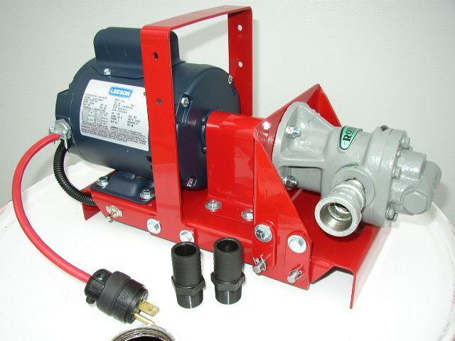New Leeson MP2000DD Waste Oil Transfer Pump Vegetable Oil WVO