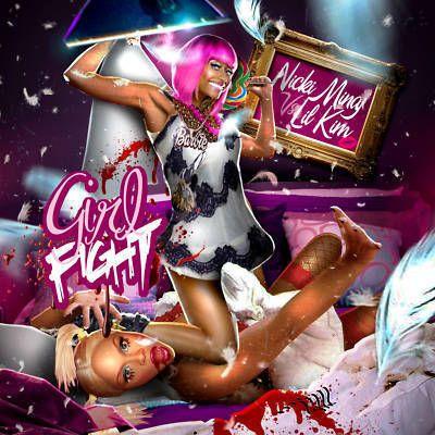 Nicki Minaj vs Lil Kim Girlfight Rap Hip Hop Mixtape