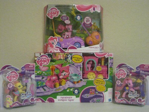 My Little Pony Friendship Pinkie Pie Remote Control Car Lot Fluttershy