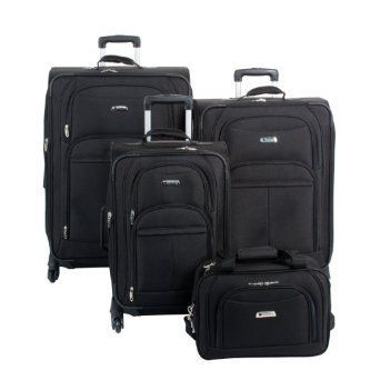 Delseyillusion Spinner 4 Piece Luggage Set