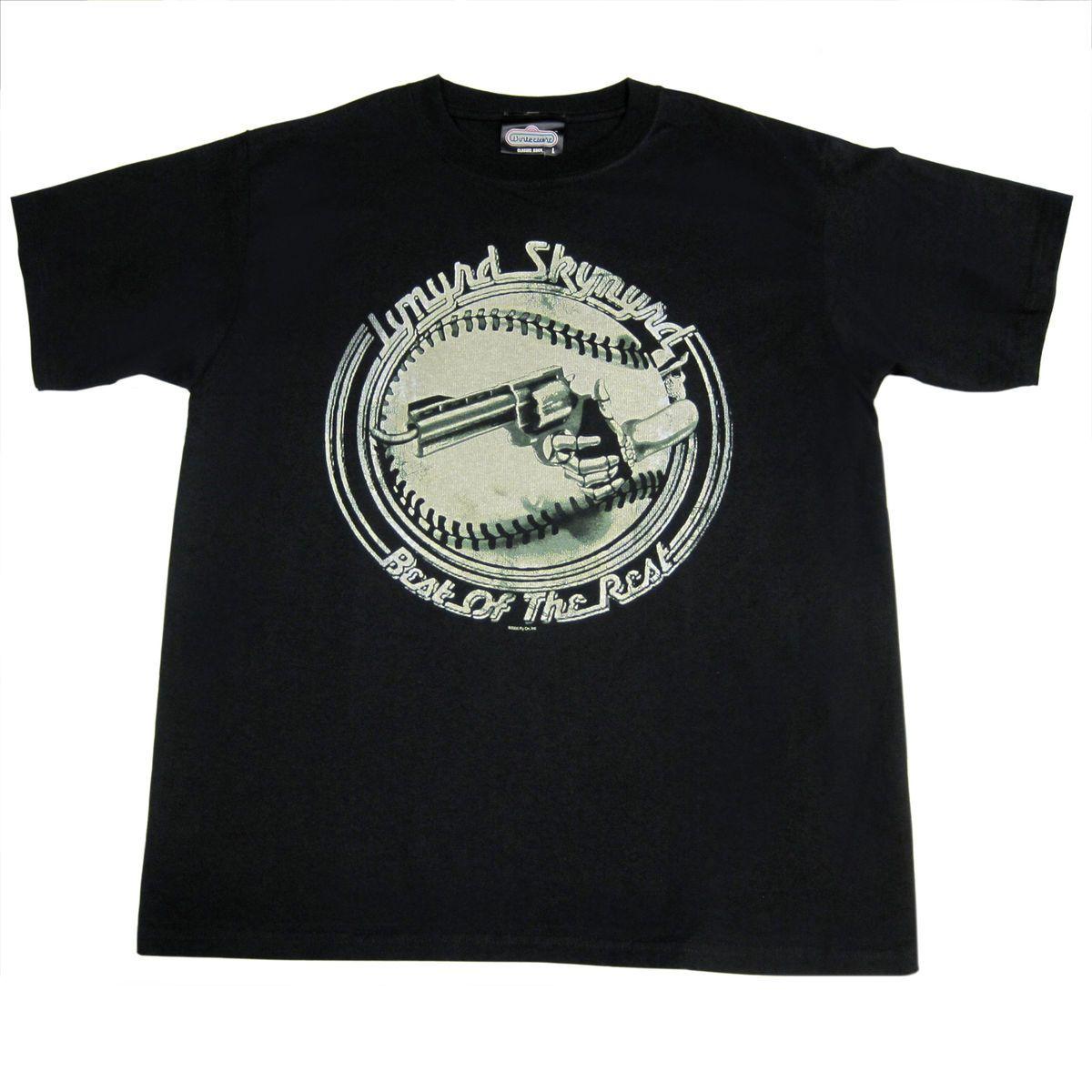 Lynyrd Skynyrd Best of The Rest T Shirt Mens Adult Large Tee Black New