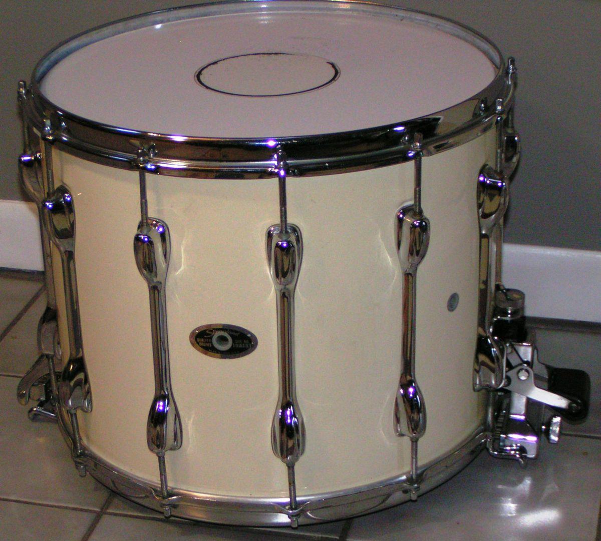 slingerland tdr marching snare drum 15 x 12 w kevlar head. Black Bedroom Furniture Sets. Home Design Ideas
