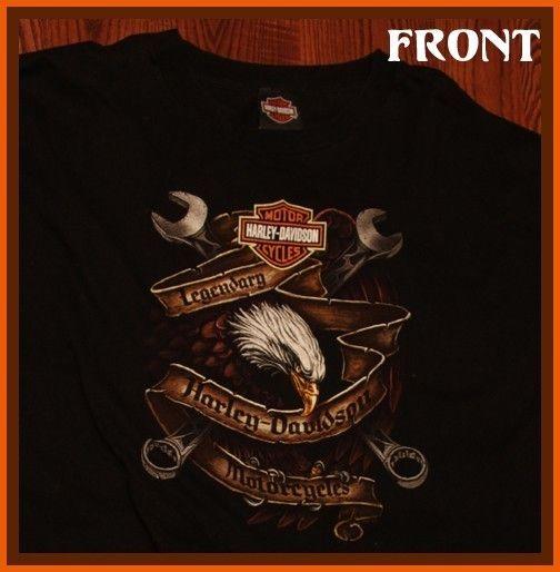 Mancuso Harley Davidson Motorcycles Houston T Shirt XXL