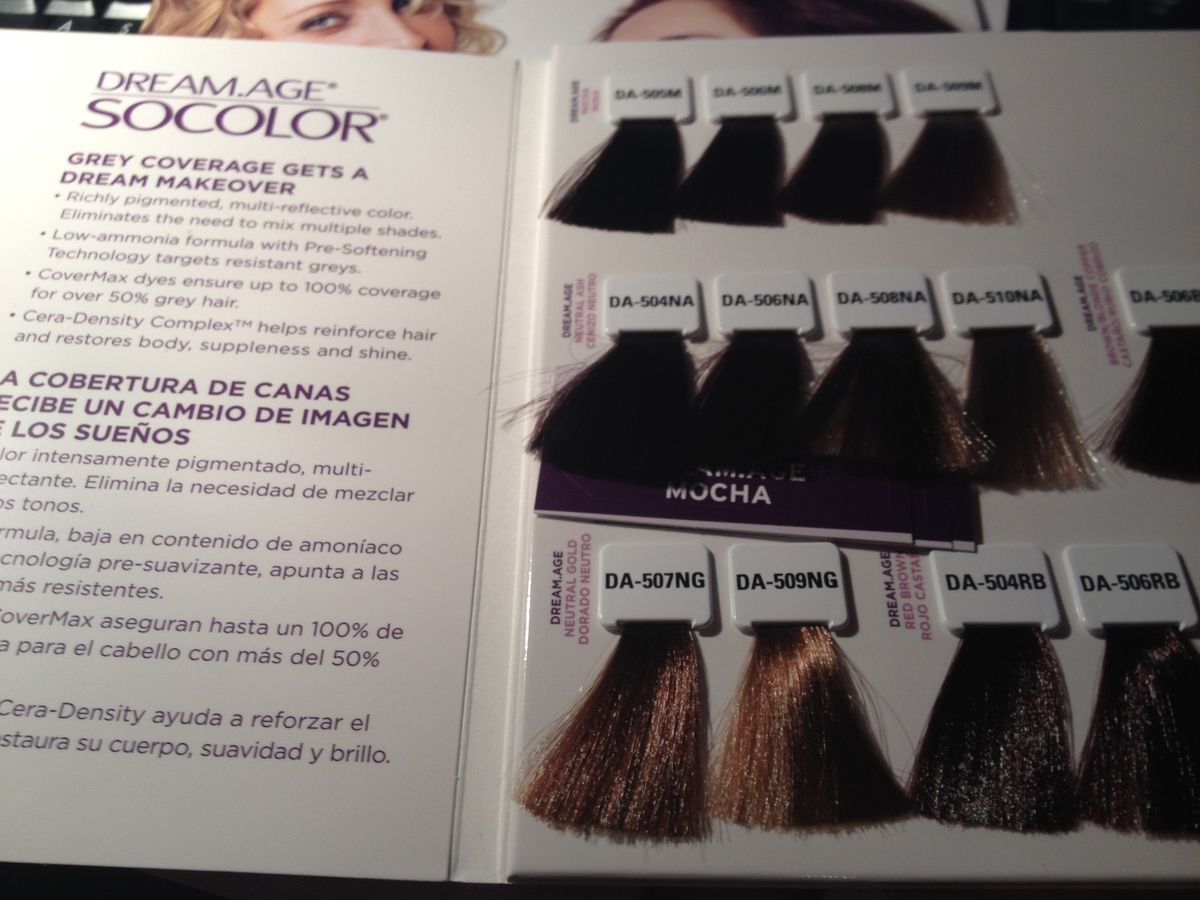 Matrix socolor dream age color chart choice image free any chart mocha hair color chart highlights ideas with pictures hair mag of matrix socolor hair color swatches nvjuhfo Gallery