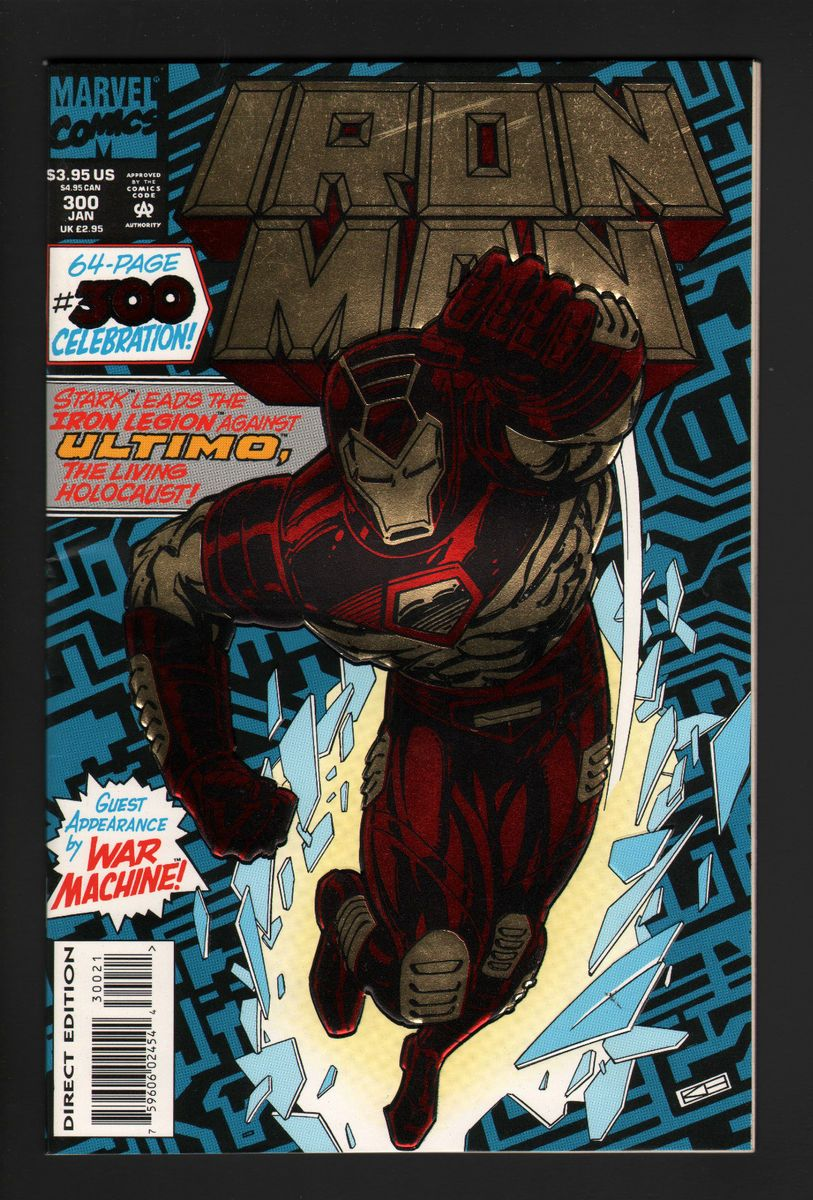 Iron Man 300 Embossed Foil Cover 64 Pages