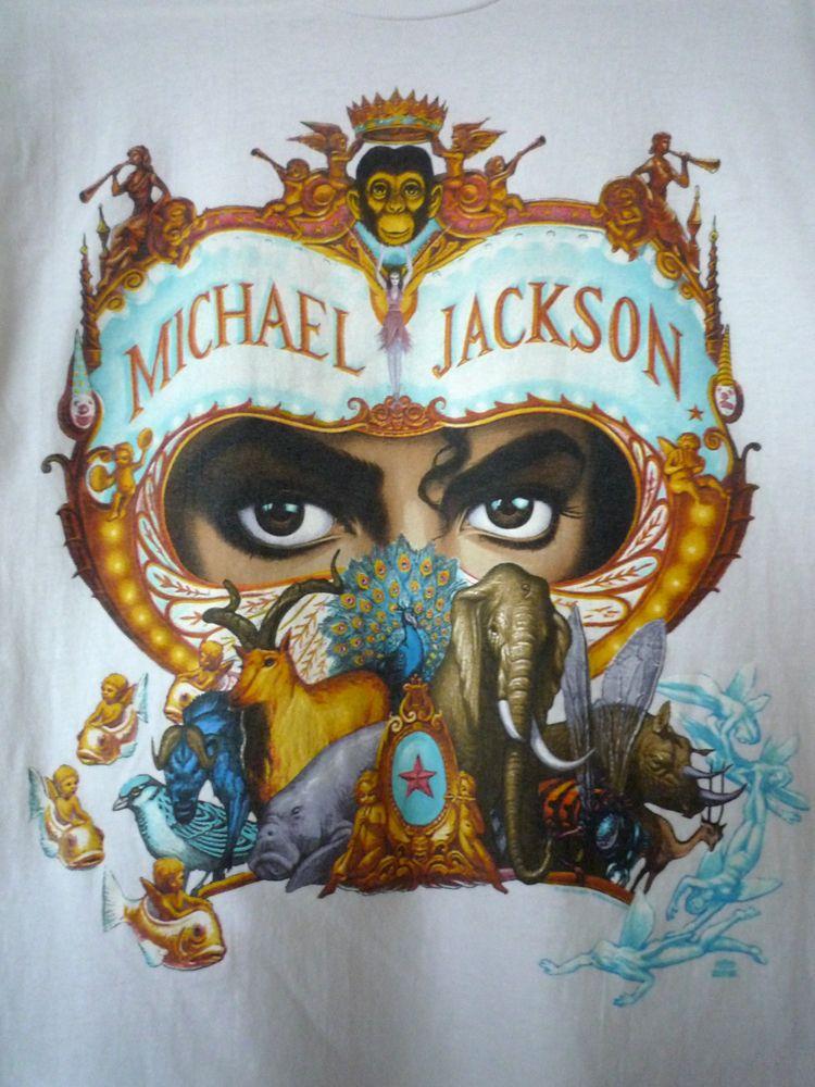 Michael Jackson Dangerous World Tour 1992 T Shirt