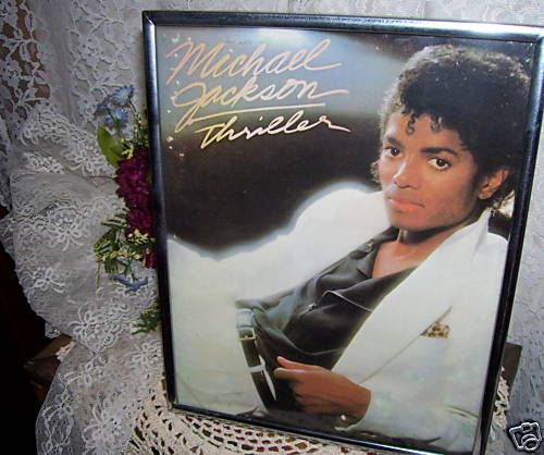 Vintage Michael Jackson Thriller Poster