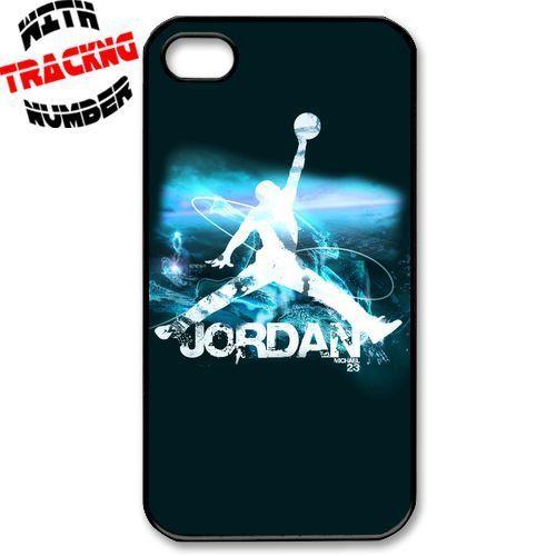 Michael Jordan Chicago Bulls Apple iPhone 4 4S Hard Case Cover 7